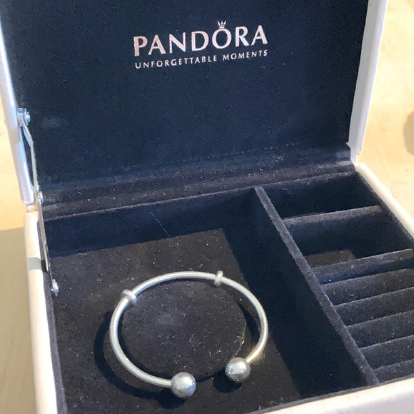 Pandora Moments Open Bangle sterling silver